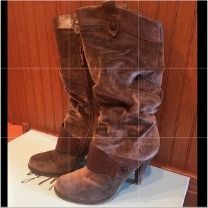 Guess mid-shaft boots